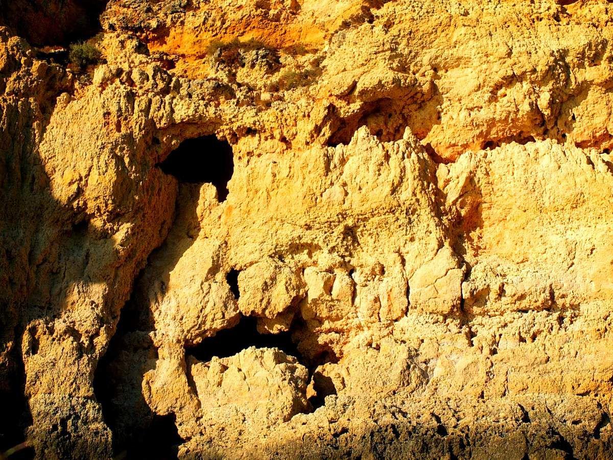 Les curiosités géologiques de Ponta da Piedade