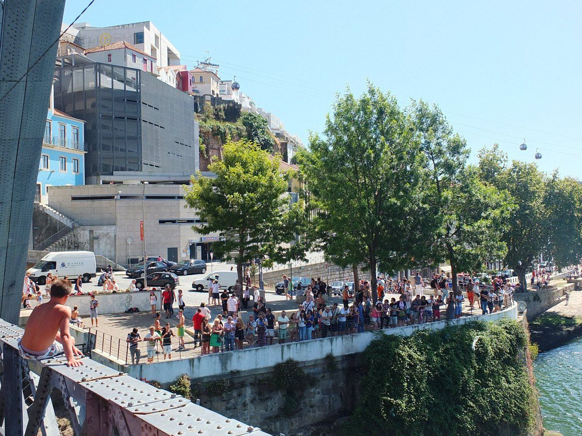 Pont D. luis I, Porto