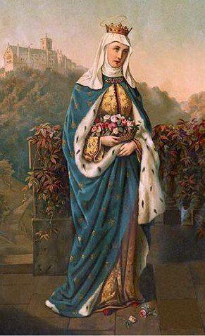 La Reine Sainte Isabelle ou Elisabeth