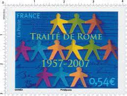 1957- 2017 : soixantième anniversaire du Traité de Rome