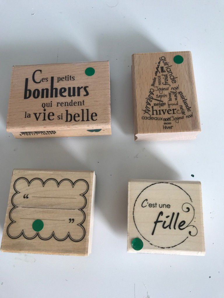 Tampons Florilège Design à vendre