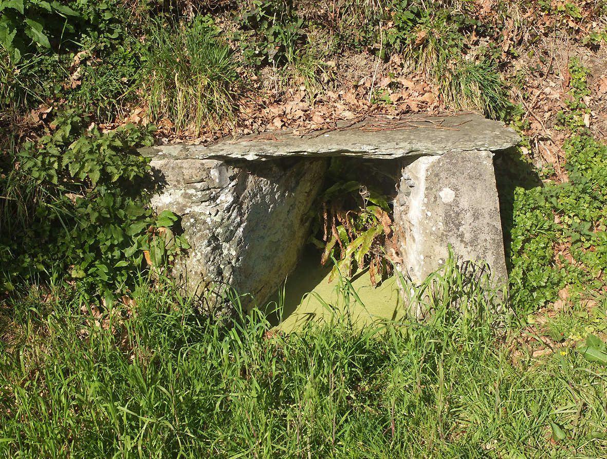PLOUEGAT-GUERAND : Fontaine de Pont Menou