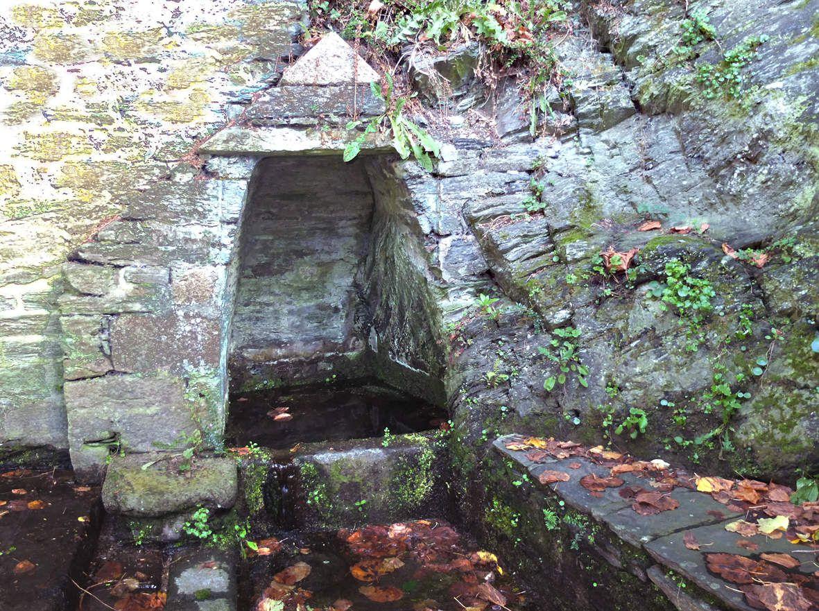 MORLAIX : Fontaine Collobert