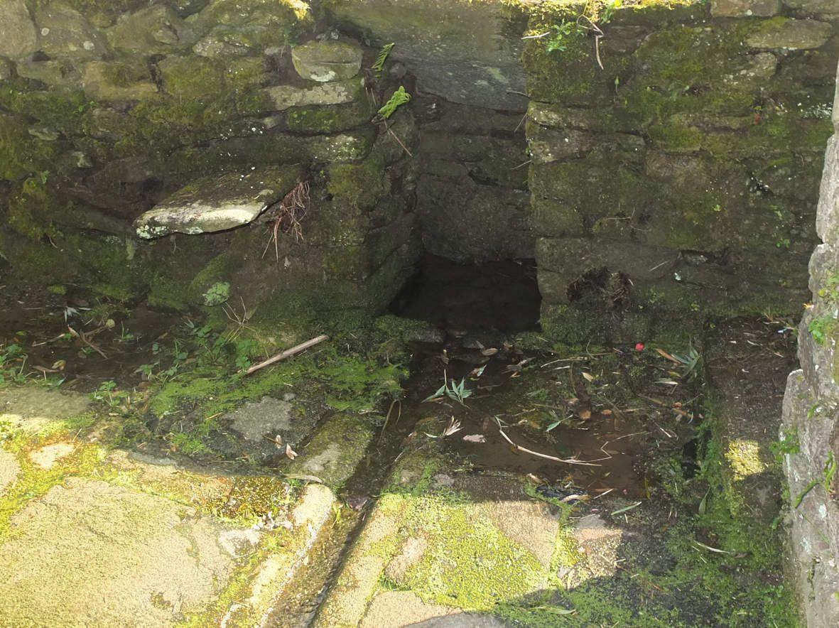 LESNEVEN : Fontaine de Castel Anter