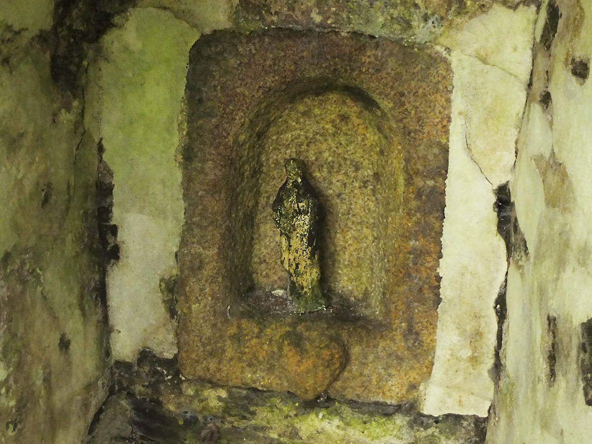PLOUEGAT-GUERAND :  Fontaine 1 Saint-Yves (détail)