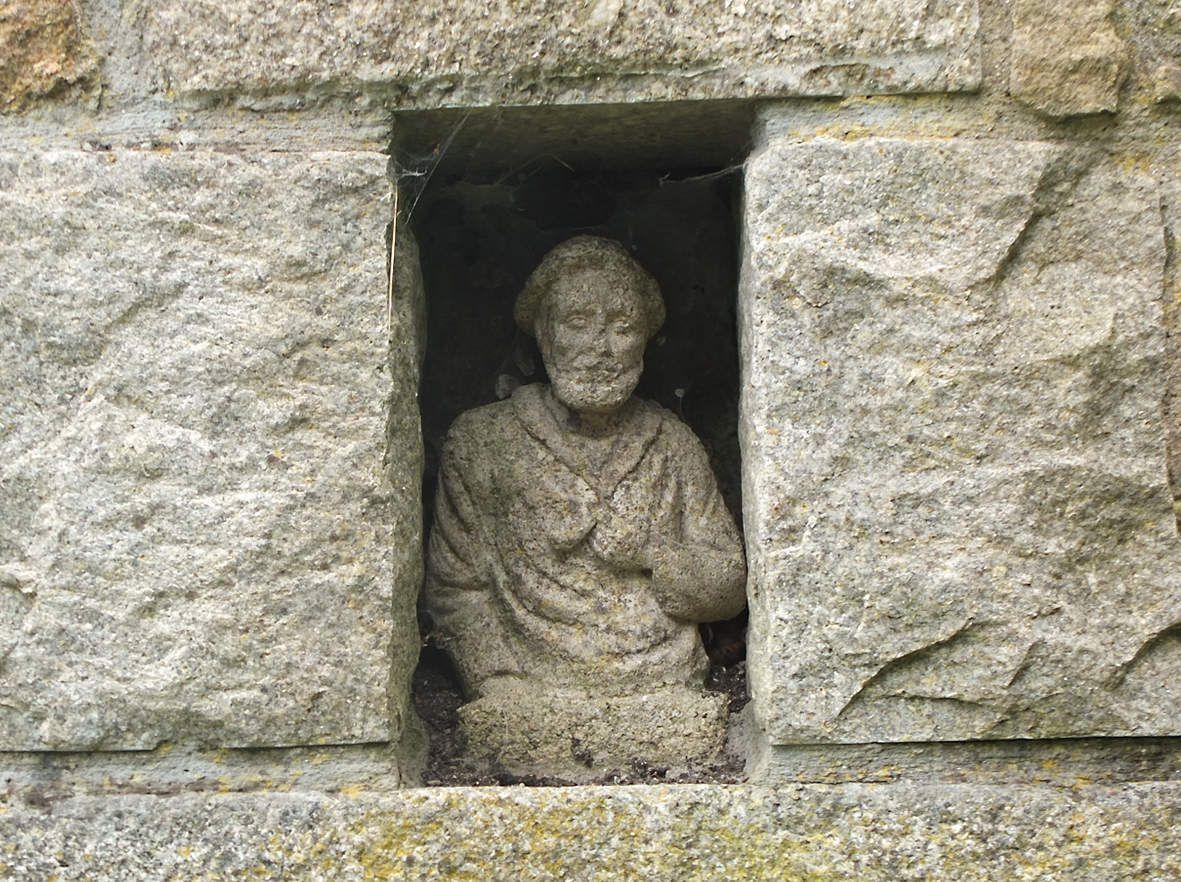 PLOULEC'H : Fontaine de Croaz Min : détail