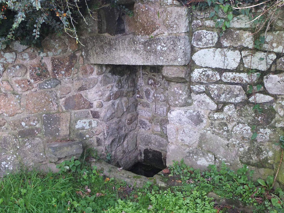 PLEUBIAN: Fontaine de Goas Mest