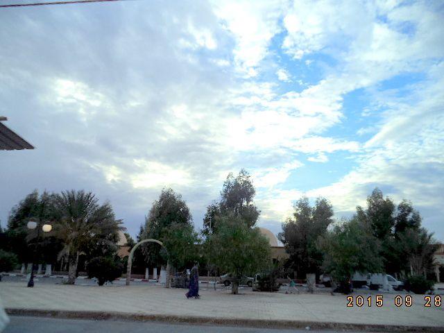Images de Laghouat hier soir du 28 9 2015