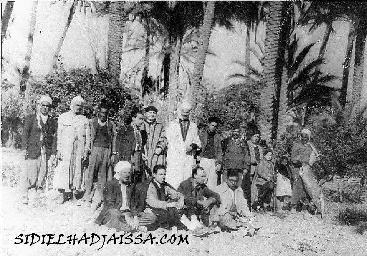 Photo datant de 1946 qui m'a été remise par hadj Kaddour Marfoua Ben Kazi.