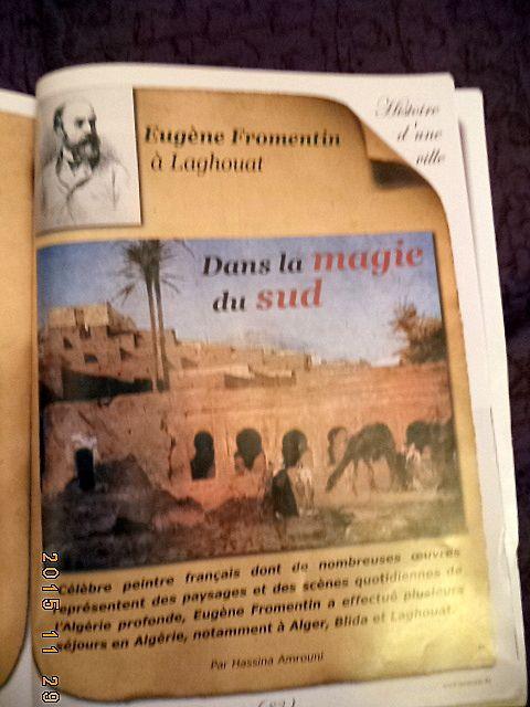 &quot&#x3B;Histoire d'une ville &quot&#x3B; le N°27 de &quot&#x3B;Mémoria&quot&#x3B;  consacré à Laghouat