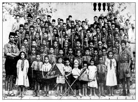 Photos de classes des écoles, medersas, groupes scout de Laghouat