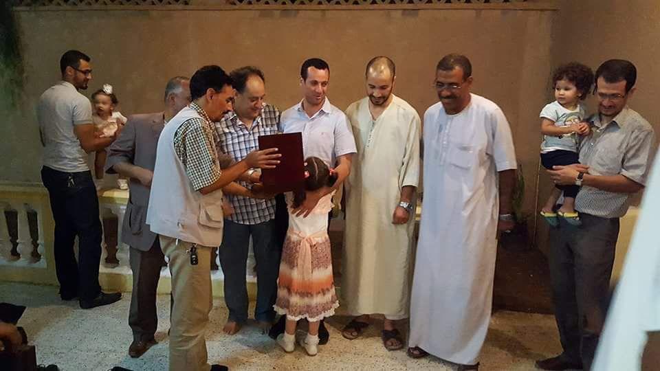 تكريم الدكتور الطاهر دلاّسي عرفانا و تقديرا لعظيم دوره في خدمة المرضى
