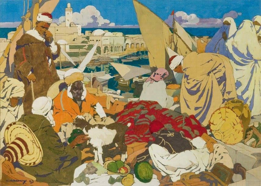 Tableaux d'orientalistes-3-