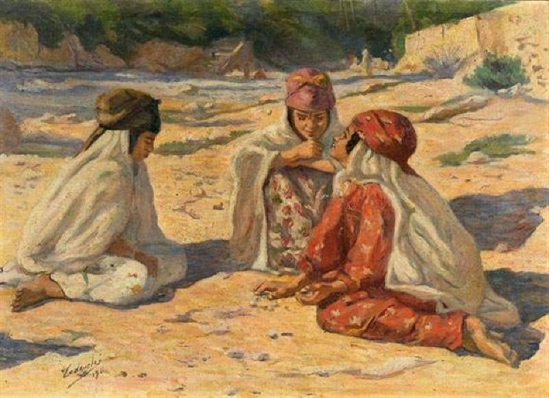 Tableaux d'orientalistes-5-