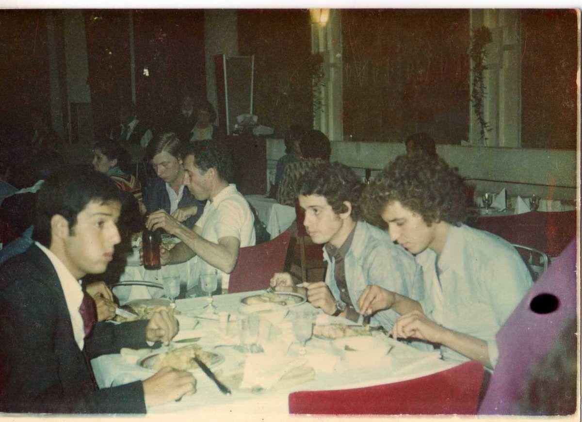 Hamid Hassani , je l'ai connu en 1976 en Roumanie- par N.COTTE-
