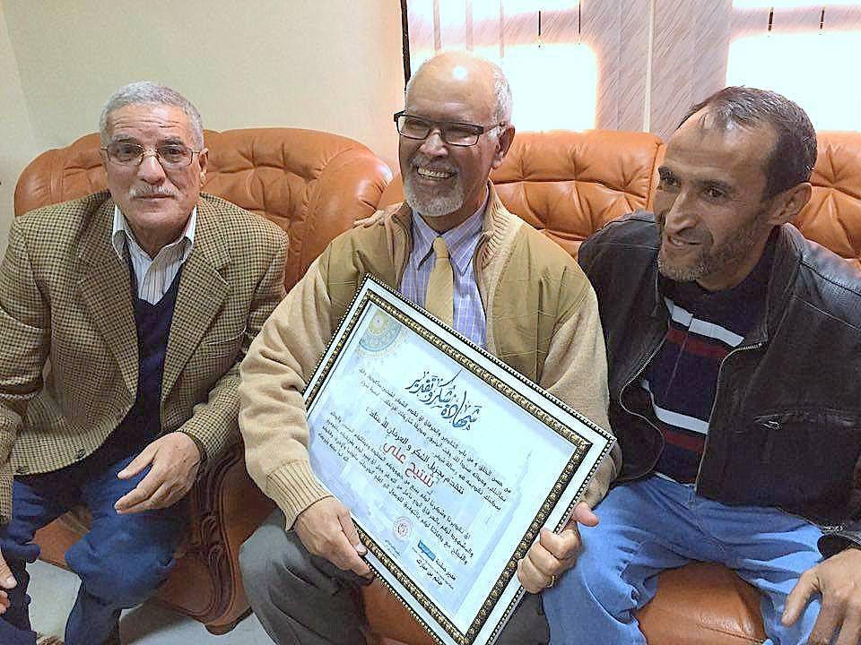 Le professeur Ali Chettih a été dignement honoré ce matin à Laghouat.