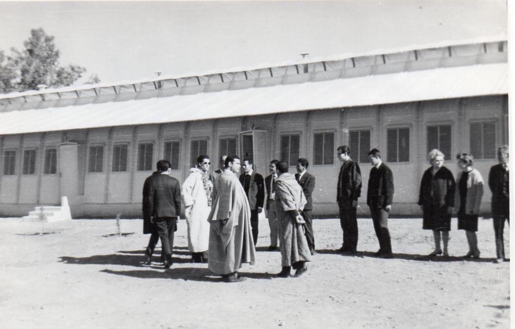 Visite du ministre de l'éducation nationale à Laghouat en 1966 : Hadj Ahmed Mechattah s'en souvient.