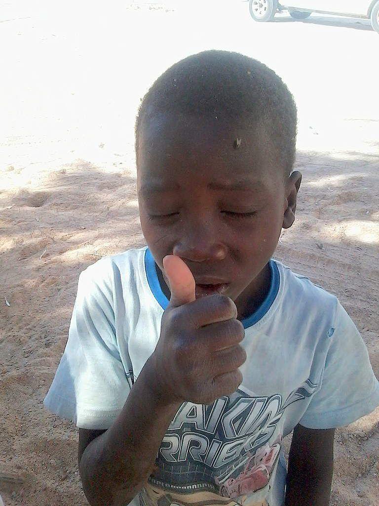 J'ai rencontré d'adorables petits nigériens...
