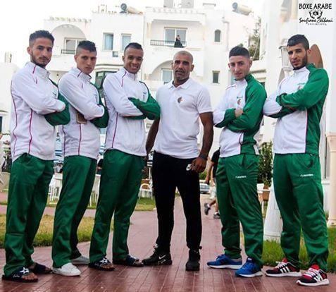 عودة الفريق الوطني للملاكمة العربية إلى أرض الوطن