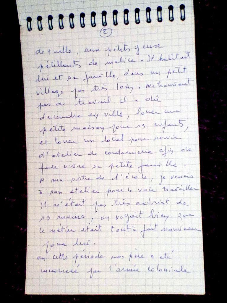 SOUVENIR D'ENFANCE : QUESTION RESTÉE SANS RÉPONSE.