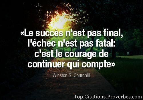 Crois en toi , Redouane ! Le succès n'est pas bien loin.....
