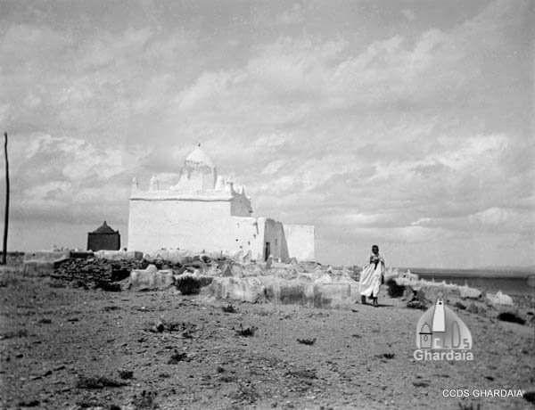 Le Ksar de Tadjemout au début du 20 ème siècle par Hadj Ahmed Lakhdari