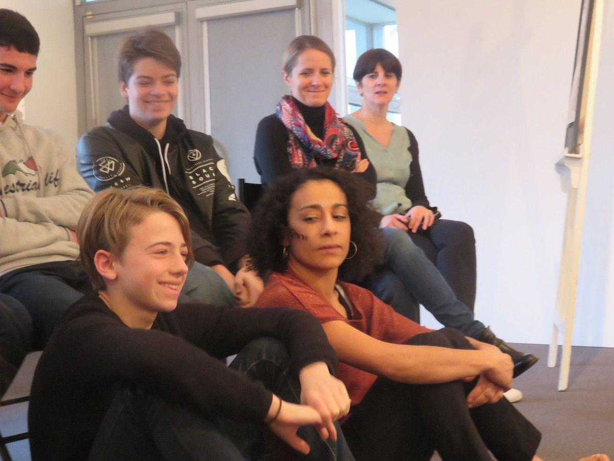 Hijra : les 3.2 en ateliers à la médiathèque de Langueux