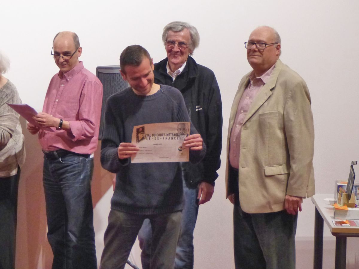 La soirée forum, remise des prix, animation)  au Festival du court métrage Ile de France à Paray Vieille Poste