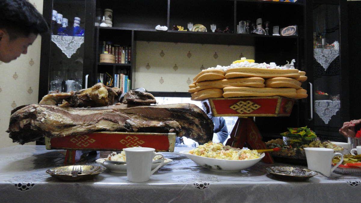 La table chez Dukaa: miam!