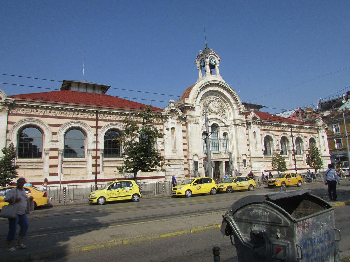 Le marché couvert Halite.