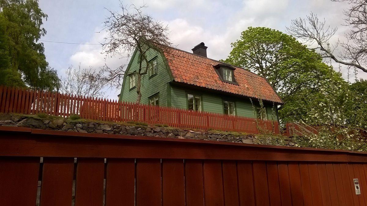 L'île de Södermalm à Stockholm (le parc de Vita Bergen)