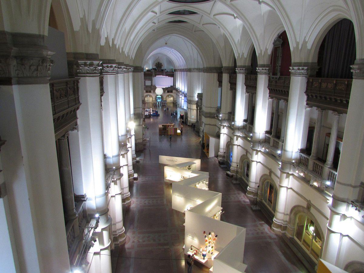 Visite du musée Nordiska à STOCKHOLM