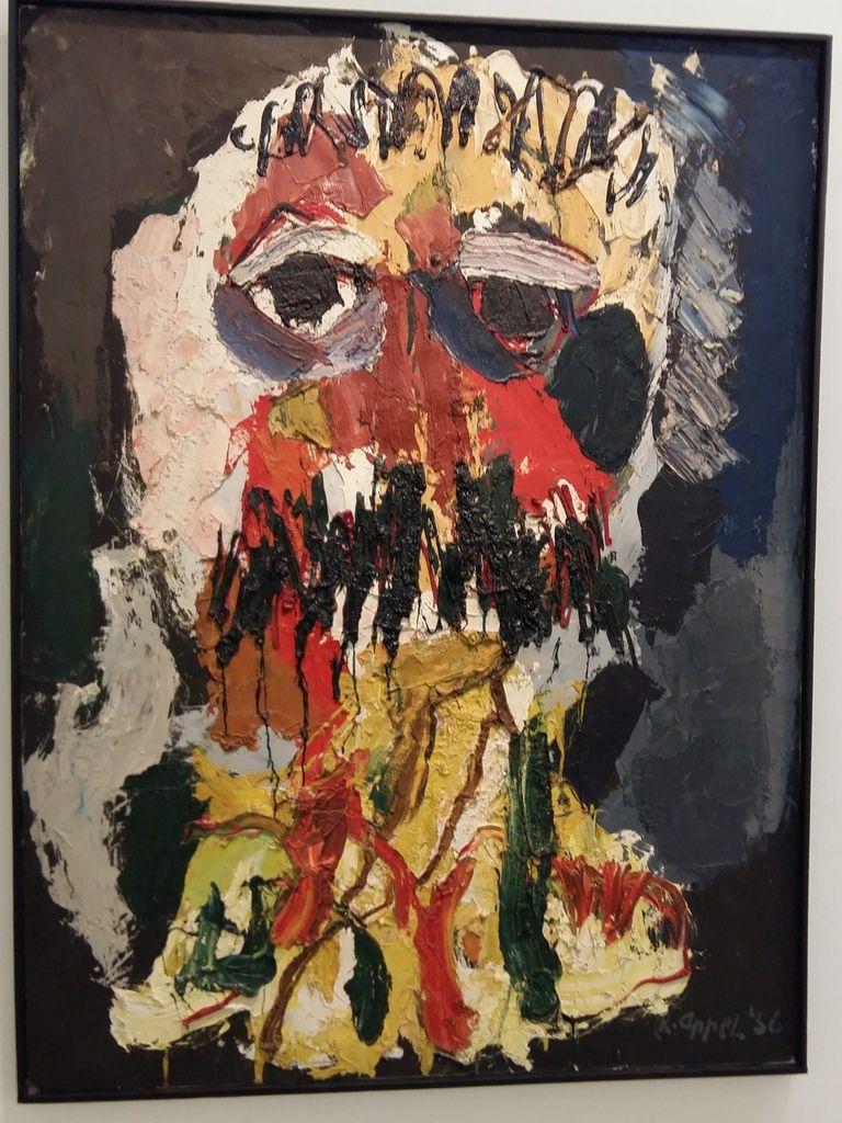 Karel Appel au Musée d'art moderne de Paris