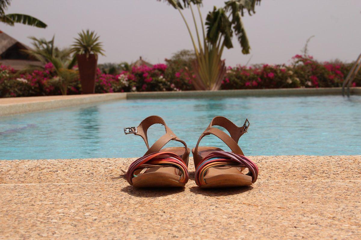 LUNE & L AUTRE au Sénégal !!! On voyage grâce aux clientes ....