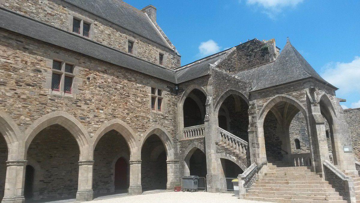 Vieille ville et château de Vitré