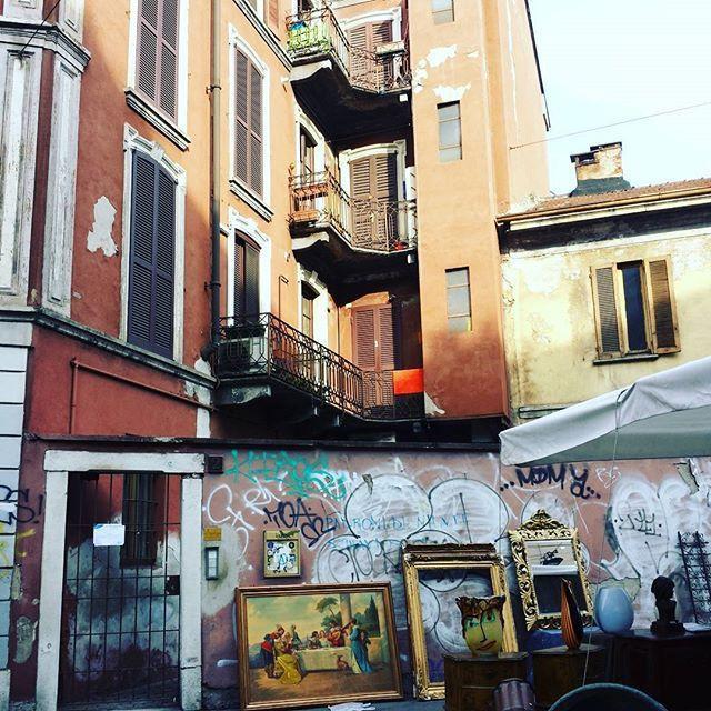 En déambulant, amoureusement, à Milan