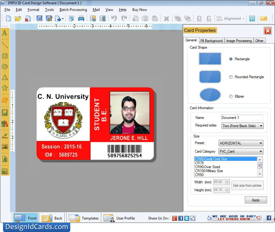 design id cards software how to make - How To Make Id Card