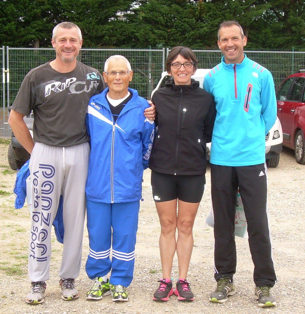 Quatre des participants