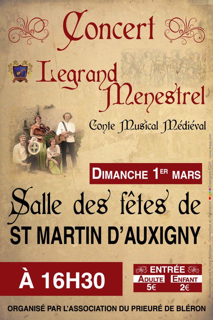 Concert du 1er mars