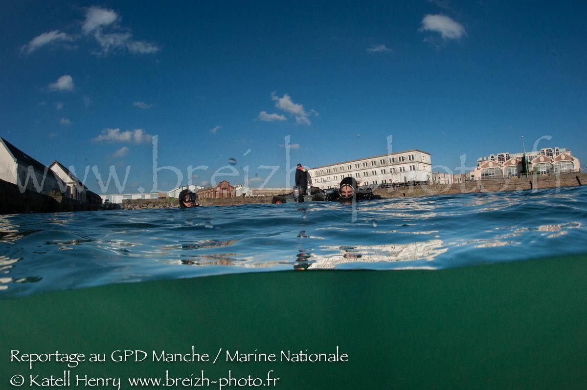 le GPD Manche à Cherbourg - exercice