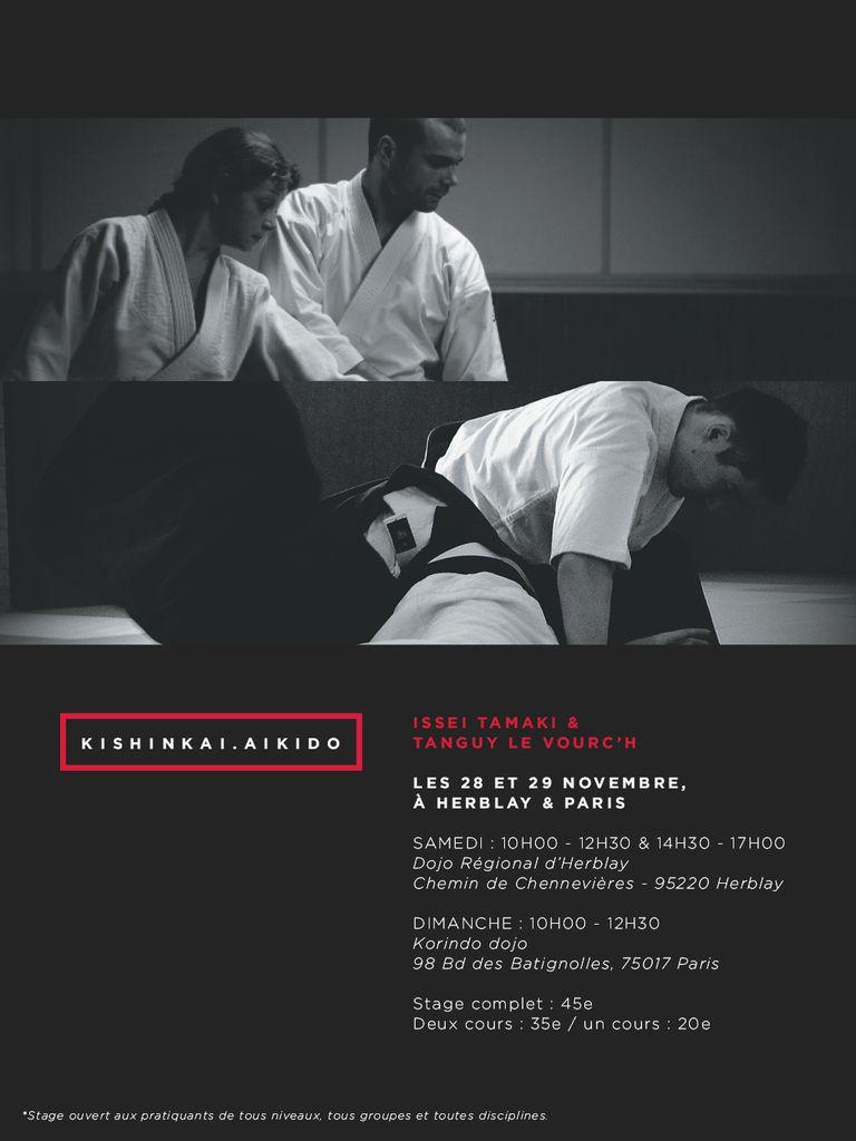 ERRATUM Tanguy Le Vourc'h et Issei Tamaki à Herblay et Paris, 28 et 29 novembre