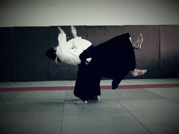 Issei Tamaki au Paris Aïkido Club, 9 avril