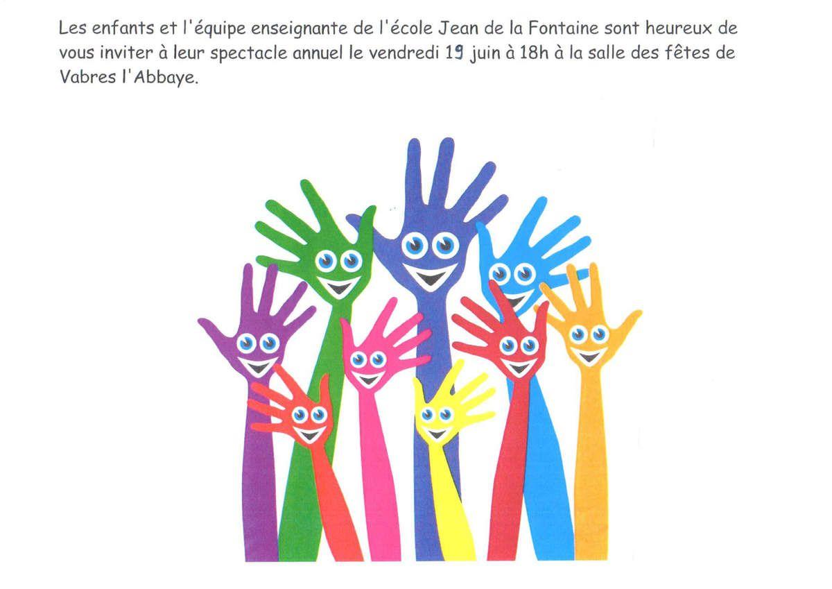 La vie des classes de l'école Jean de la Fontaine