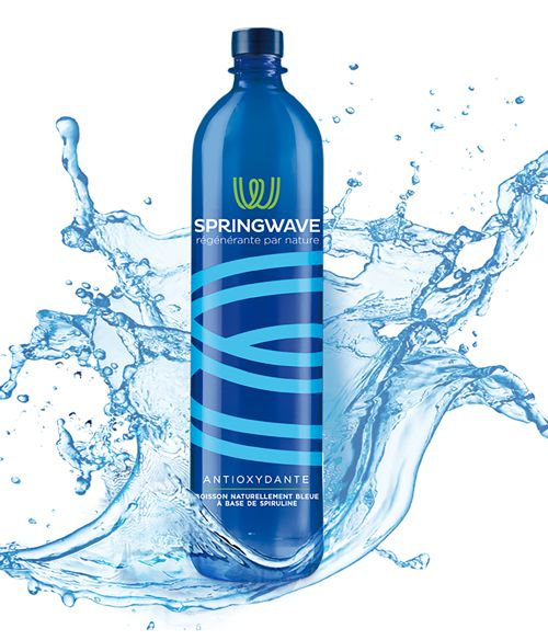 Springwave, l'algue faite boisson