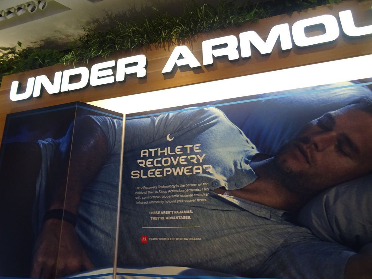 Under Armour se lance dans le sleepwear