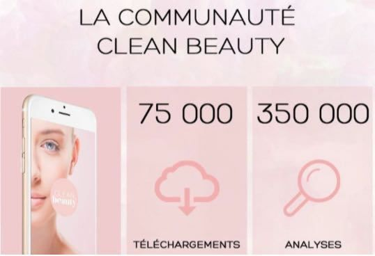 CLEAN BEAUTY, L'APPLI BEAUTE QUI CARTONNE