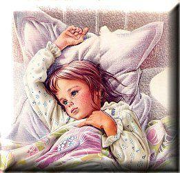 La petite fille malade