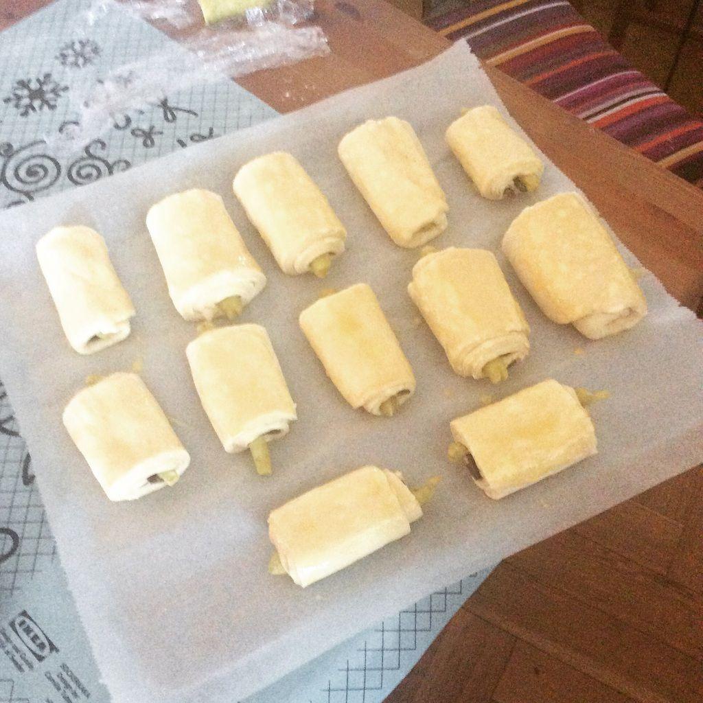 Le défi des pains au chocolat amandes pistaches