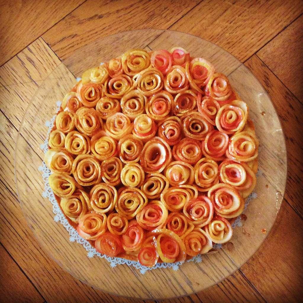 Le défi de la tarte fleur