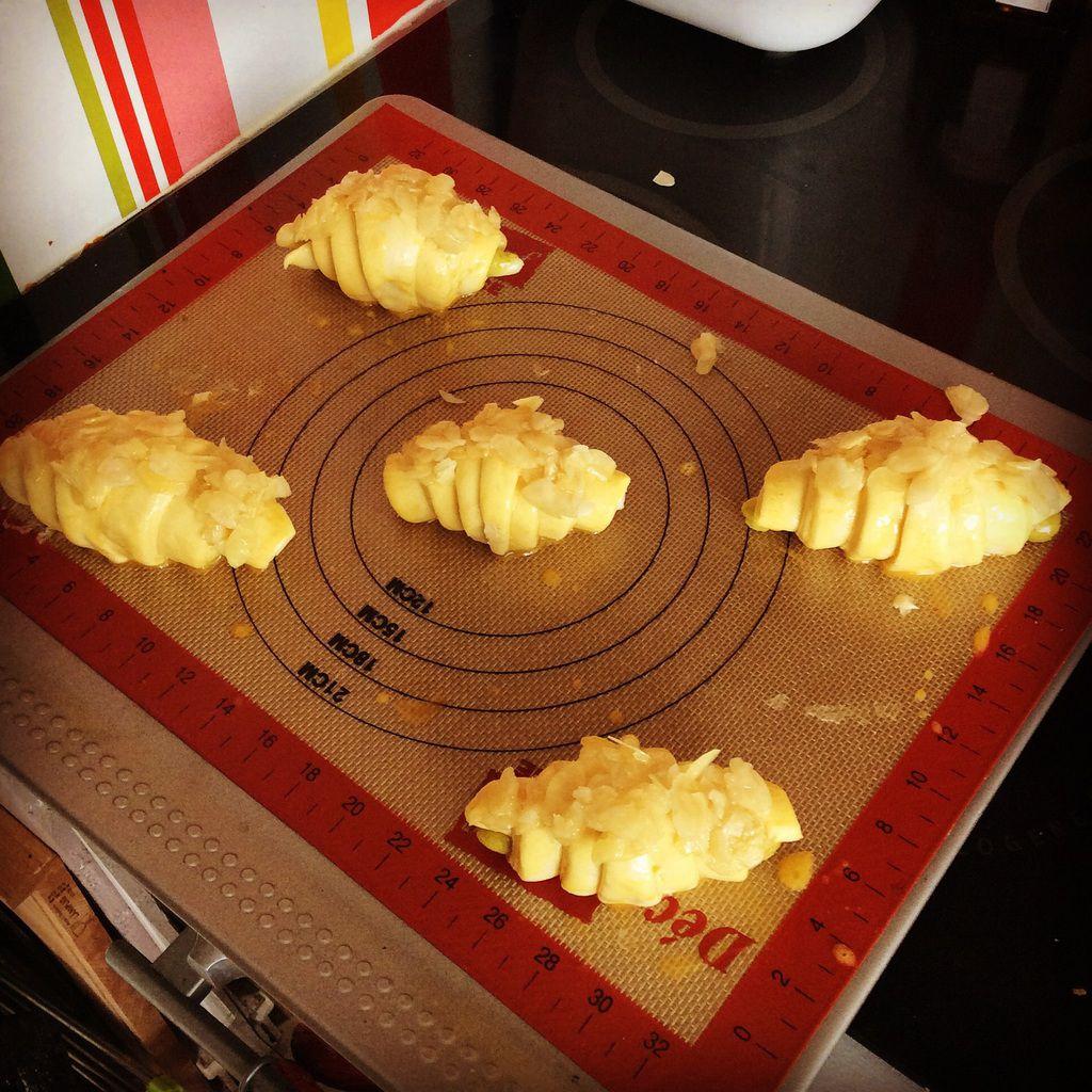 Le défi des croissants aux amandes